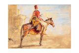 A Turkish Outpost, 1850 Giclee Print by John Frederick Lewis