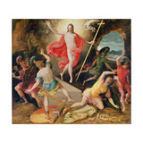The Resurrection of Christ, C.1594 Giclee Print by Antoine Caron