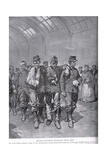 Belgian Wounded Returning from Liege, from 'Hutchison's Story of the British Nation', C.1920 Giclee Print by Gordon Frederick Browne