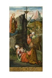 St. Mary Magdalene Raising the Wife of the Prince of Marseilles, 1519 Giclee Print by Erhard Altdorfer