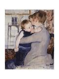 Mother and Child, C.1889 Giclee Print by Mary Stevenson Cassatt