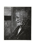 Giuseppe Verdi, 1893 Giclee Print by Aubrey Beardsley