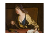 Portrait of Mrs. Siddons Giclee Print by Angelica Kauffmann