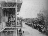 Bombay: Front of Watson's Hotel, 1870s Photographic Print by Willoughby Wallace Hooper
