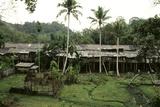 Dayak Iban Longhouse Named Rumah Along at Nanga Sumpa Village, Sarawak, Malaysia Photographic Print