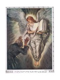 Abou Ben Adhem and the Angel, from the 'Bibby Annual' Published in 1917 Giclee Print by Edmund Joseph Sullivan
