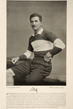 C.B. Fry, from 'Famous Footballers', 1895 Reproduction photographique