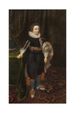 Portrait of a Boy, Early to Mid 1620s Giclee Print by Daniel Mytens