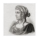 Sappho, 1825 Giclee Print