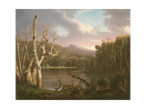 Lake with Dead Trees Giclee Print by Thomas Cole