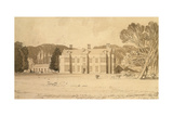 Felbrigg Hall, Norfolk, 1818 Giclee Print by John Sell Cotman