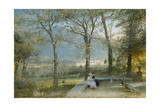 The Gardens, Pallanza, Lago Maggiore Giclee Print by Albert Goodwin