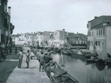 View of a Canal Photographic Print