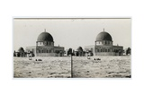 Dome of the Rock and the Dome of the Chain, 1850s Giclee Print by Mendel John Diness