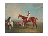 Sam with Sam Chifney, Jr., Up, 1818 Giclee Print by Benjamin Marshall