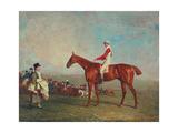 Sam with Sam Chifney, Jr., Up, 1818 Giclee Print by Benjamin Marshall