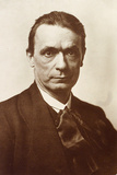 Portrait of the Philosopher and Esotericist Rudolf Steiner Papier Photo