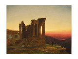 Temple of the Sibyl, Tivoli (Early Morning at Paestum), 1876 Giclee Print by Jasper Francis Cropsey