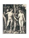 Adam and Eve, 1504 Giclee Print by Albrecht Dürer or Duerer