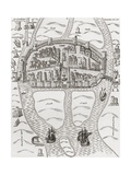 Cork, County Cork, Ireland in 1633, from 'A Short History of the English People' by J. R. Green,… Giclee Print