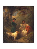 The Lucky Sportsman, 1792 Giclee Print by George Morland
