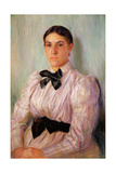 Portrait of Mrs William Harrison, C.1890 Giclee Print by Mary Cassatt