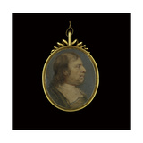 Profile Portrait of Oliver Cromwell, C.1653 Giclee Print by Samuel Cooper