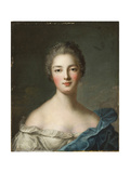 Portrait of a Lady, C.1750 Giclee Print by Jean-Marc Nattier