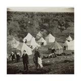 Travelers' Encampment, 1850s Giclee Print by Mendel John Diness