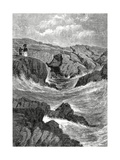 The Spouting Cave, Newport, Rhode Island, Usa, May 4, 1872 Giclee Print by C.G. Griswold