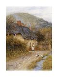 At Symondsbury, Near Bridport, Dorset Giclee Print by Helen Allingham