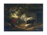 A Farmyard, 1792 Giclee Print by George Morland