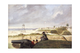 Battery Rutledge, December 3rd, 1864 Giclee Print by Conrad Wise Chapman