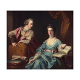 Isabel and Thomas Crathorne, 1767 Giclee Print by Francis Cotes