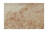 Storm at Sea Giclée-tryk af Jean Antoine Watteau