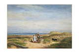 Dry Sand Banks at Barmouth, North Wales, C.1830 Giclee Print by David Cox