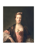 Anne Garth-Turnour, Baroness Winterton, 1762 Giclee Print by Allan Ramsay