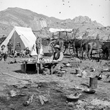 Campsites Among the Foothills, C.1875-1900 Photographic Print by Joseph Collier