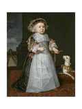 A Young Boy with a Dog, 1667 Giclee Print by Hendrick Berckman