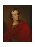 Portrait of Friedrich Schiller, 1806 Giclee Print by Johann Friedrich August Tischbein