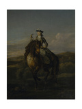 Equestrian Portrait of Charlotte Boyle, Marchioness of Hartington, 1747 Giclee Print by William Kent