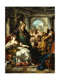 Joseph Accused by Potiphar's Wife, 1745 Giclee Print by Jean Francois de Troy