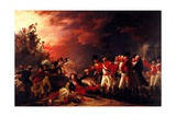The Sortie from Gibraltar, 1788 Giclee Print by John Trumbull