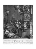 Credulity, Superstition and Fanaticism, 1762 Giclee Print by William Hogarth