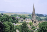 View of the Town with All Saints Church Spire to the Right Photographic Print