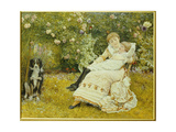 Pleasant Hours, 1881 Giclee Print by Edward Killingworth Johnson