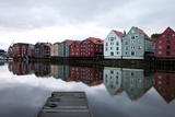 View of Trondheim Photographic Print