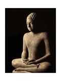 Meditating Buddha, Davaravati Period Giclee Print