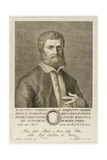Taddeo Alderotti, Engraved by Francesco Allegrini (1729-After 1773), 1770 Giclee Print by Giuliano Traballesi