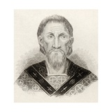 St. John Chrysostom, from 'Crabbes Historical Dictionary', Published in 1825 Giclee Print